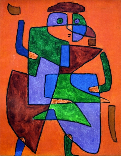 Der Kunftige by Paul Klee