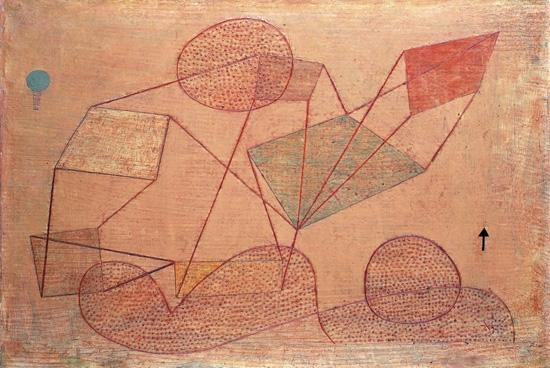 Sollte Steigen by Paul Klee