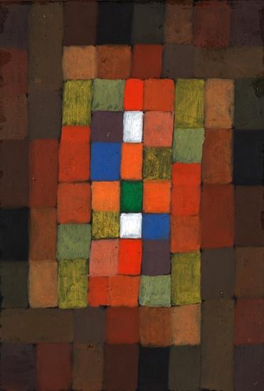 Static-Dynamic Gradation by Paul Klee