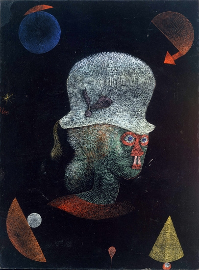 Astrological Fantasy Portrait by Paul Klee