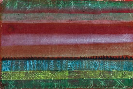 Flat Landscape by Paul Klee