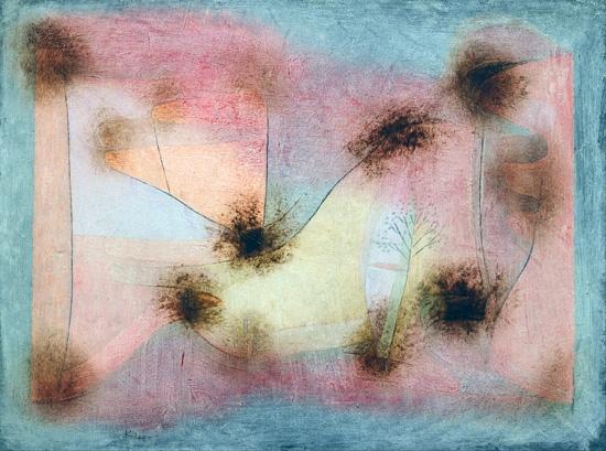 Hardy Plants by Paul Klee