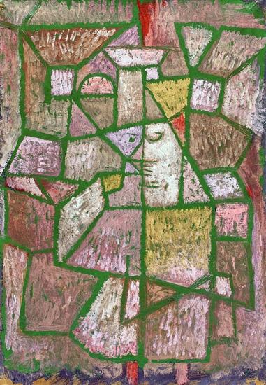 Herr Der Stadt by Paul Klee