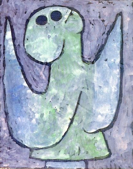 Listening Angel by Paul Klee