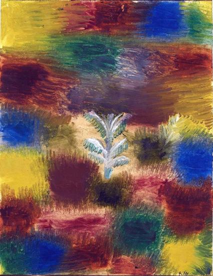 Little Tree - Little Tree Amid Shrubbery by Paul Klee