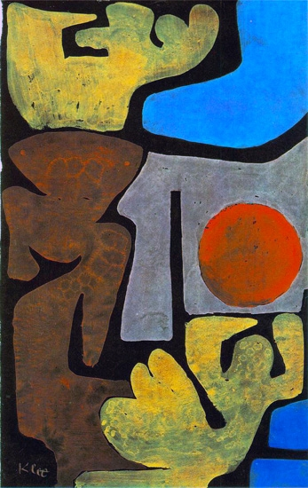 Park Of Idols by Paul Klee