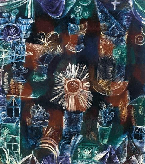 Stilleben Mit Der Distelblüte by Paul Klee