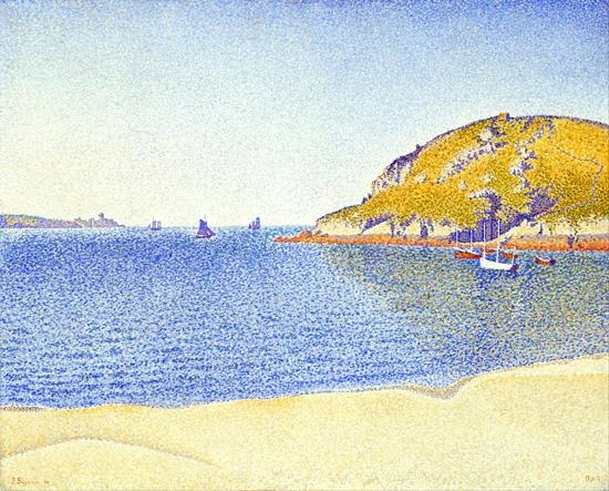 Port Of Saint-Cast by ポール·シニャック