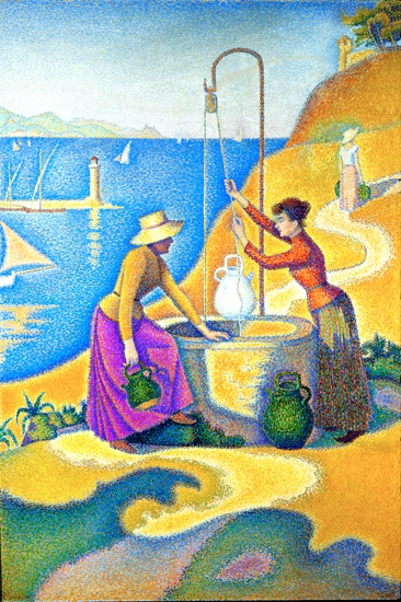 Women At The Well 1892 by Paul Signac