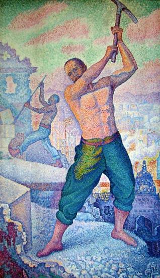 The Demolisher by Paul Signac