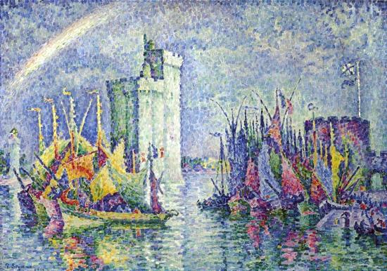 Arc-En-Ciel, La Rochelle, Le Port by Paul Signac