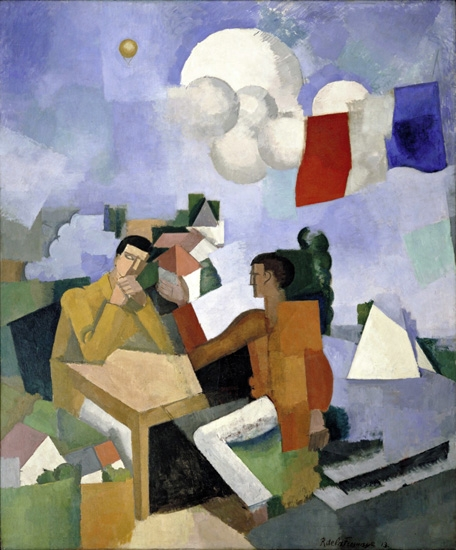 The Conquest of the Air by Roger Fresnaye