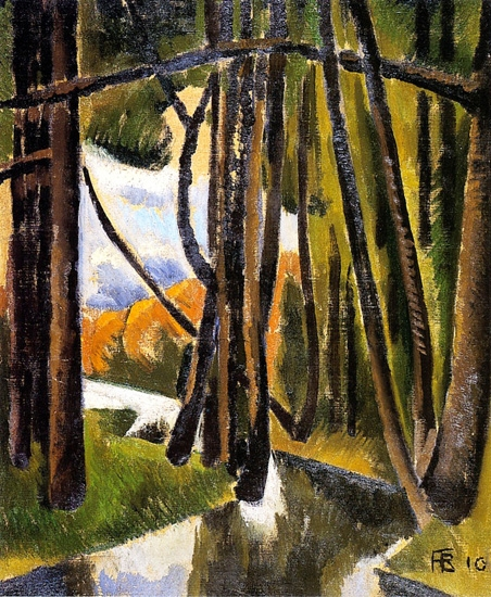 Undergrowth by Roger Fresnaye