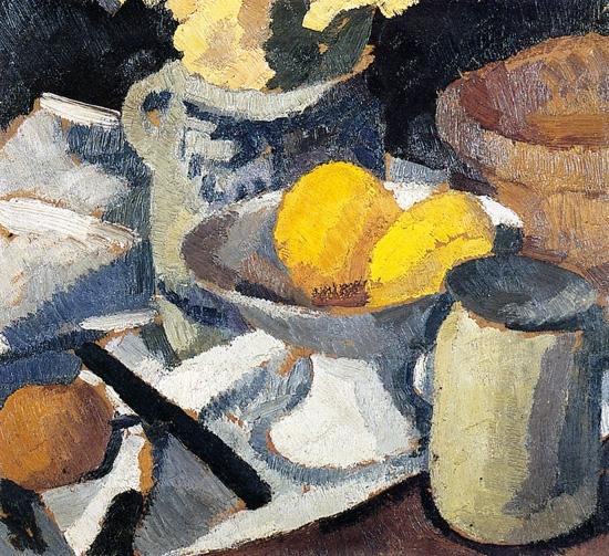Still Life with Lemons by ロジェ・フレネ