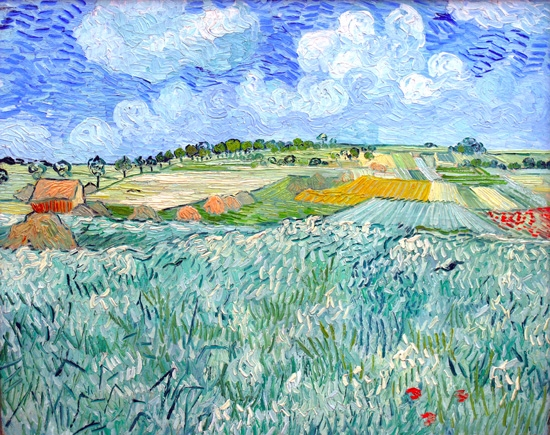 Plain Close To Auvers by Vincent Van Gogh