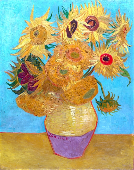 Sunflowers - Vase With Twelve Sunflowers by Vincent Van Gogh