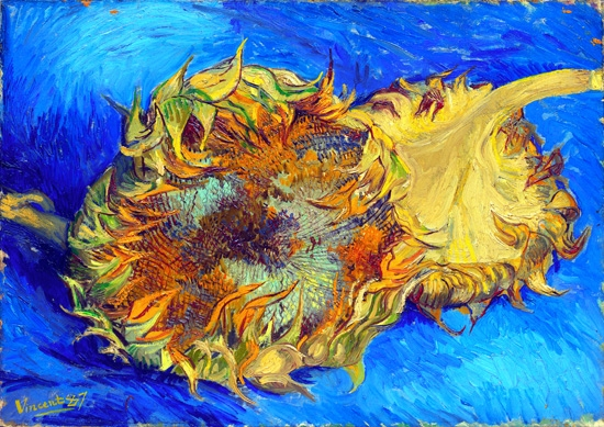 Sunflowers,1887 by Vincent Van Gogh
