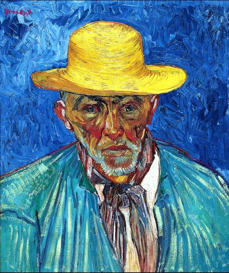 Portrait Of A Peasant (Patience Escalier) by Vincent Van Gogh