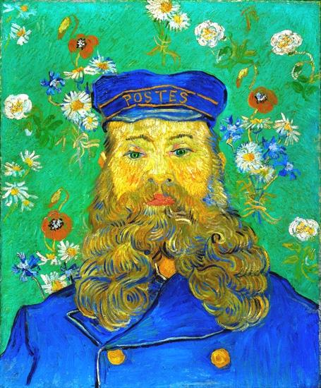 Portrait Of Joseph Roulin 1889 by Vincent Van Gogh