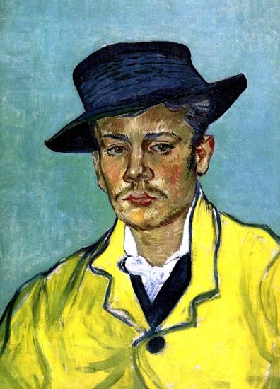 Portrait D'armand Roulin 1888 by Vincent Van Gogh