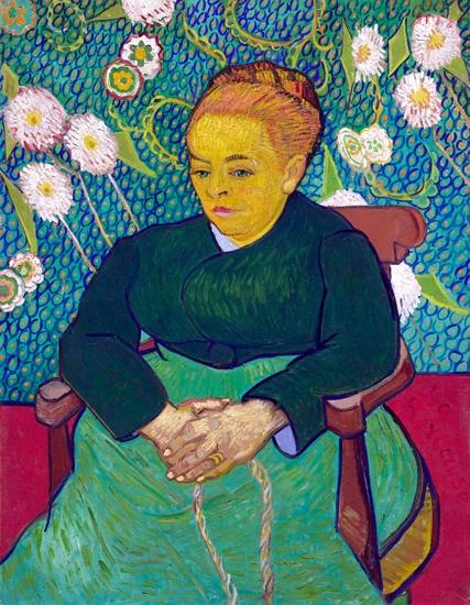 Madam Augustine Roulin Rocking A Cradle 1889 by Vincent Van Gogh