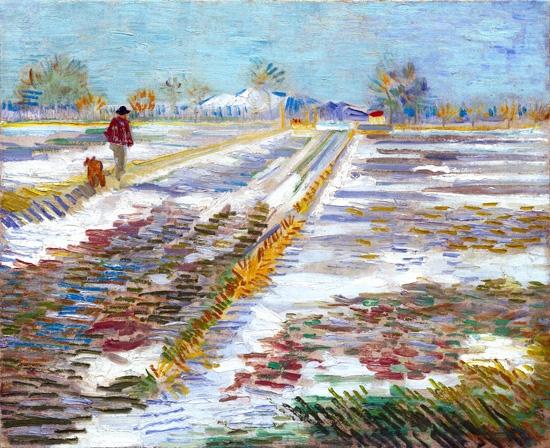 Landscape And Mood by Vincent Van Gogh