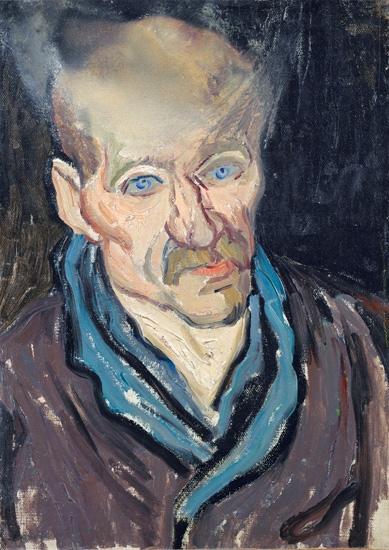 Portrait Of A Man 1889 by Vincent Van Gogh
