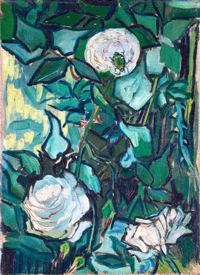 Roses 1890 by Vincent Van Gogh