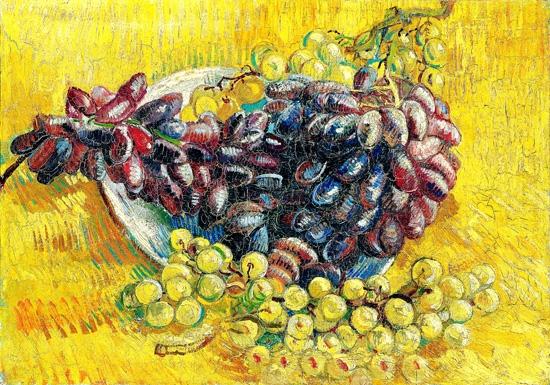 Grapes by Vincent Van Gogh