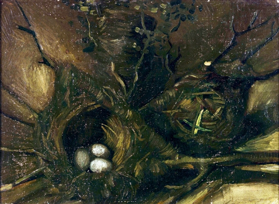 Birds Nests by Vincent Van Gogh