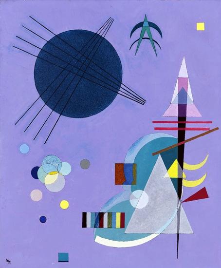 Violett-Grün (Violet-Green) by Wassily Kandinsky