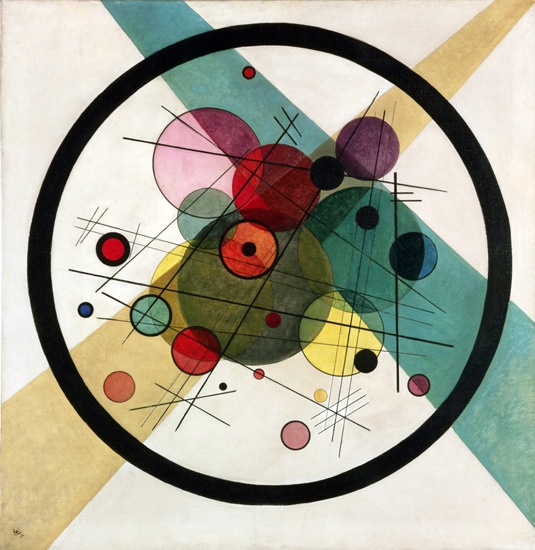Circles In A Circle, 1923 by Wassily Kandinsky