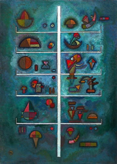 Levels (Etagen) by Wassily Kandinsky
