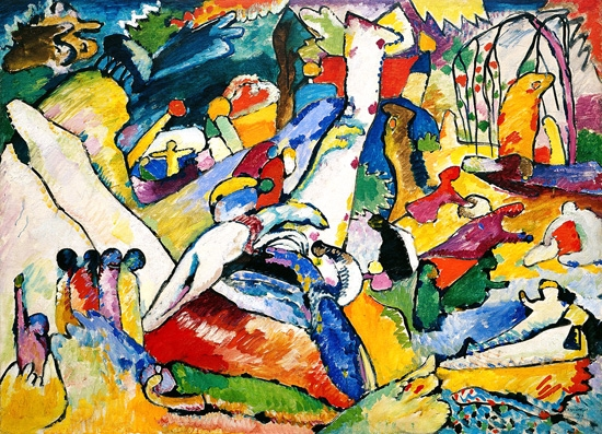 Study To Composition II by Wassily Kandinsky