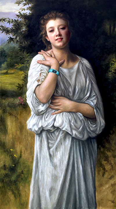 Souvenir by William-Adolphe Bouguereau