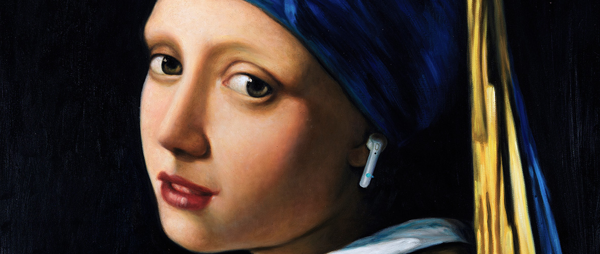 Girl with a Pearl Earring - Invesco Brand Campaign