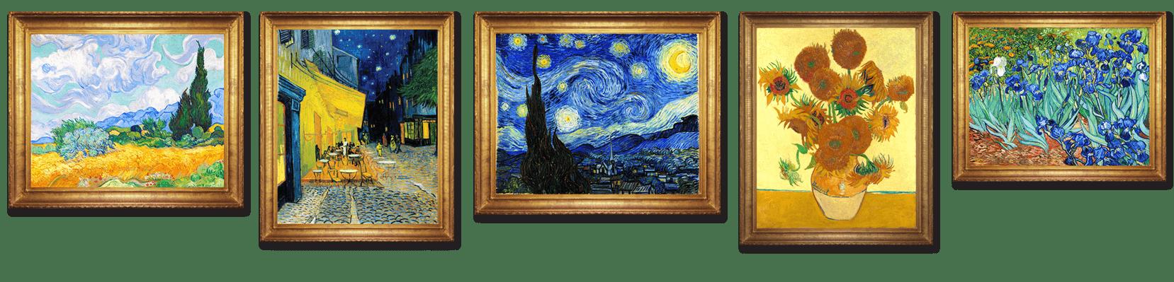 Paintings by Vincent Van Gogh